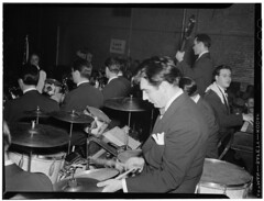 Portrait of Gene Krupa, Washington, D.C., bet...