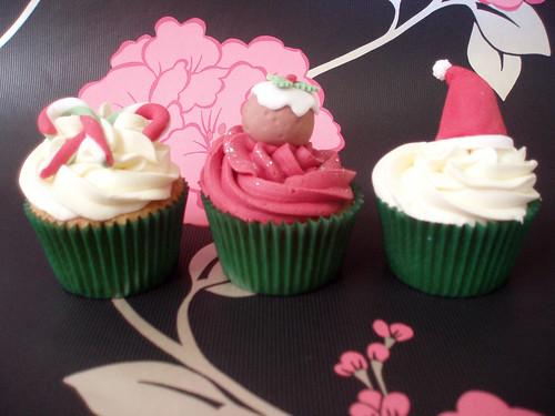 Cirencester Cupcakes - Christmas Cupcakes 2010