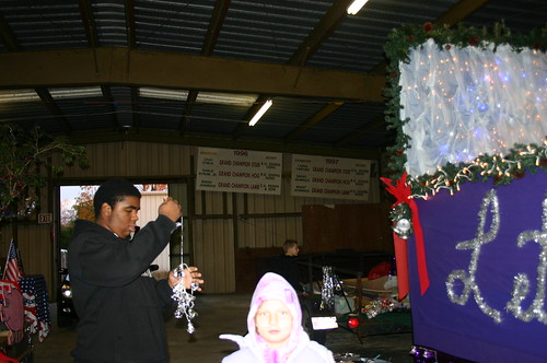 Relay for Life - Christmas Parade - Khalif Untangles Bells