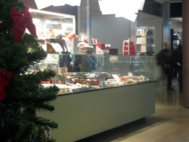 Chocolate store in Brussels Airport