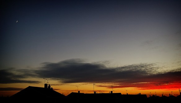 Sunset Over Canvey