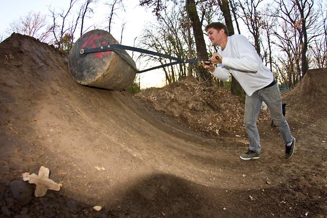dirt jump roller
