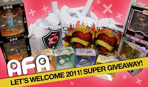 AFA X Super Giveaway 2011