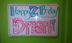 Dylan's 2nd Birthday Sign