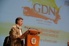 Colombian President Juan Manuel Santos address at the GDN 12th Annual Conference