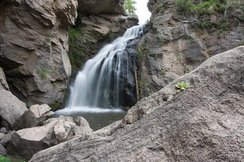 Waterfall in Sandia Mountains