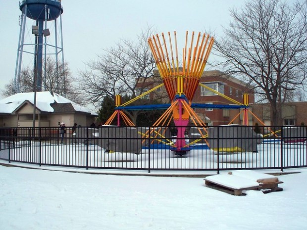 Cedar Point - Off-Season Scrambler