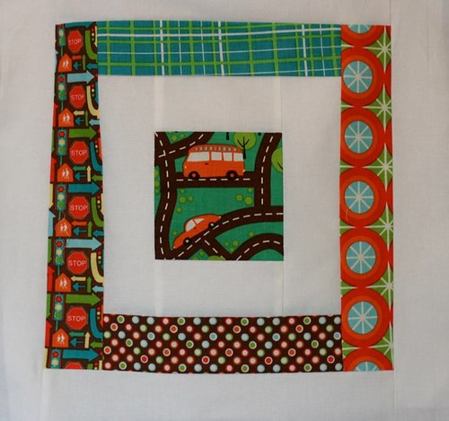 Cam's Big Guy Quilt Blocks