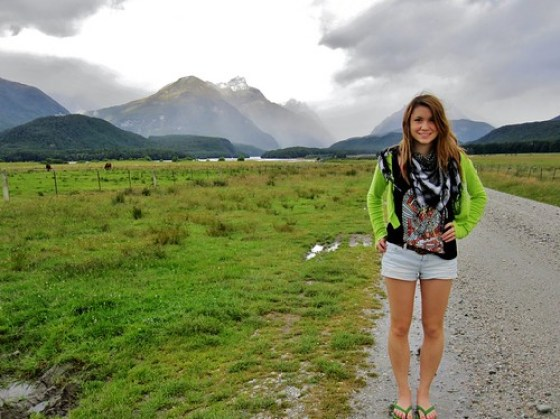 Nadine Sykora at Glenorchy