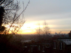 Morning Sun, Mid December,London