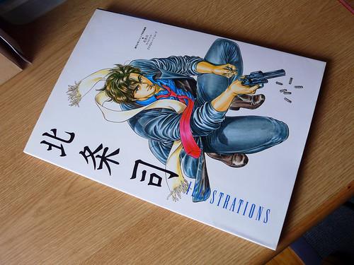 Artbook - Tsukasa Hojo - Illustrations (1991) 1