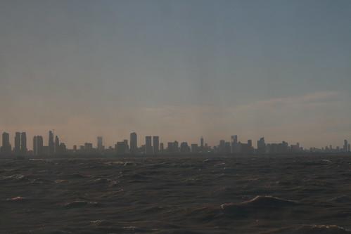 Buenos Aires vom Schiff aus.