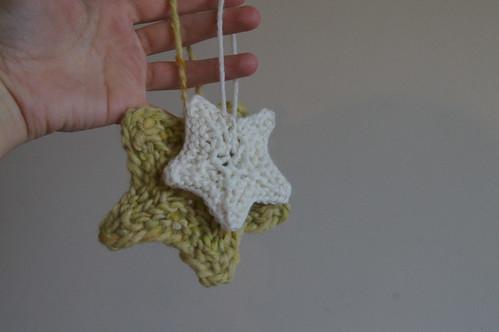 Christmas tree decoration and advent calendar present