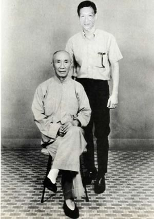 Jonal Chong with Ip Man
