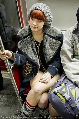 2011 No Pants Subway Ride: Casual