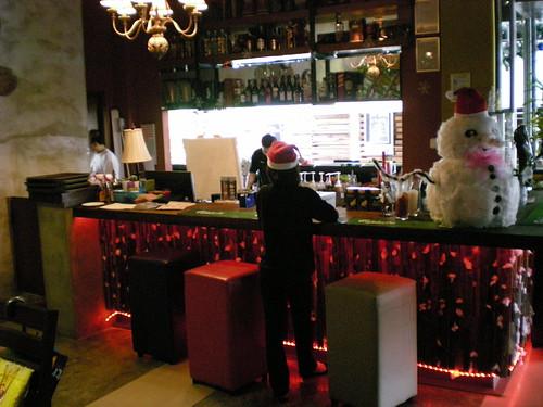 Secret Garden Grill - bar counter