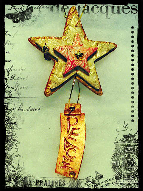 star ornament Peg M