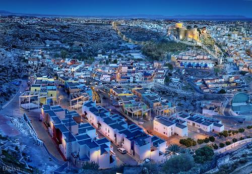 the colorful neighborhood of La Chanca / El colorista Barrio de La Chanca (Almería, Spain)
