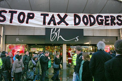 STOP TAX DODGERS - UK Uncut - Brighton, Saturd...
