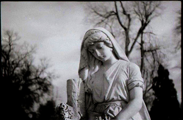 I love going to old cemeteries. Fairmont was founded in the 1880s, and is a fascinating place to go. If you're into cemeteries, also check out Riverside in north Denver. Also of note, my brother and I joked about taking goth kid portraits while wandering around.