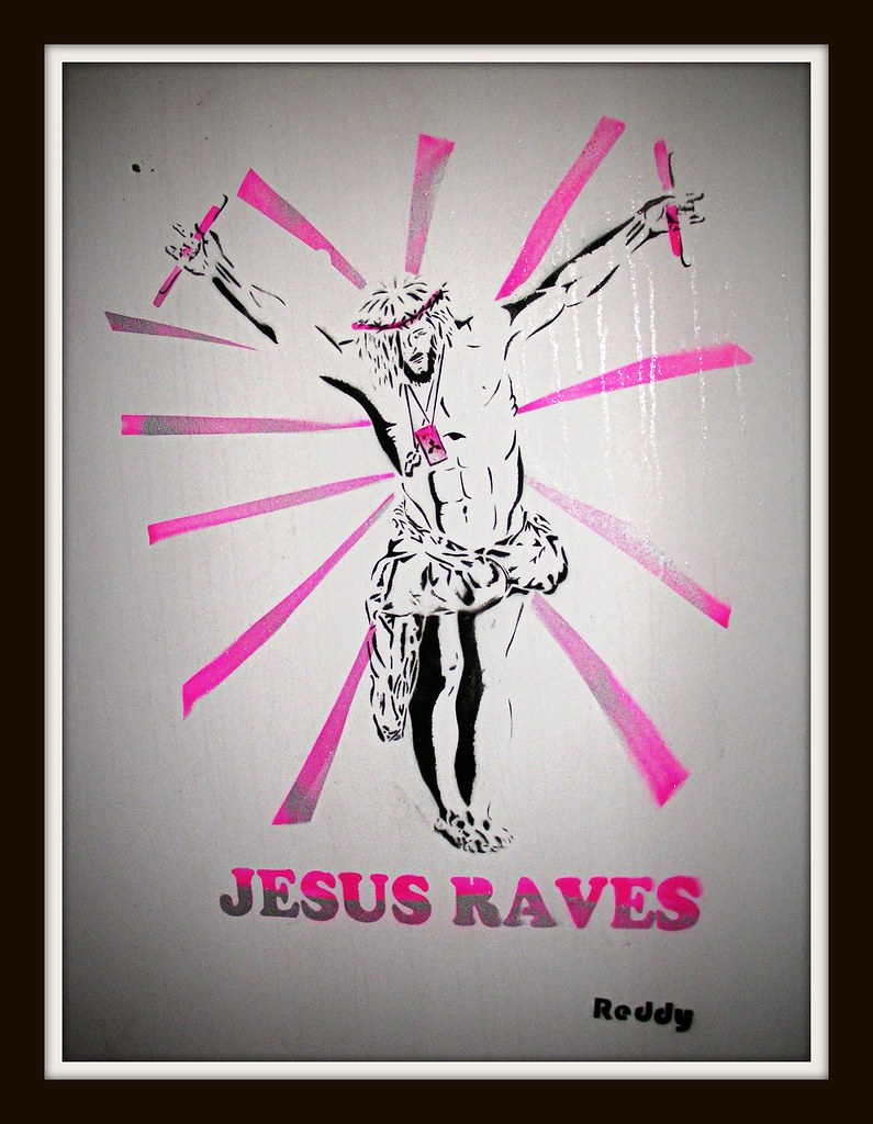 "Canton Graffiti-""Jesus Raves"""