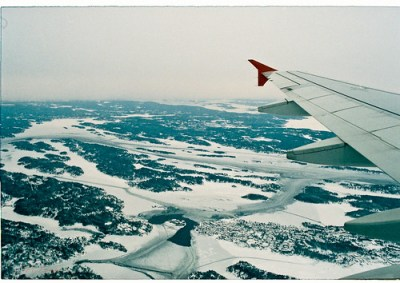 Reaching Icy Sweden