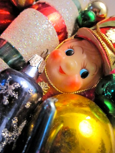 Vintage Christmas Ornament Wreath from GeorgiaPeachez Drummer Boy