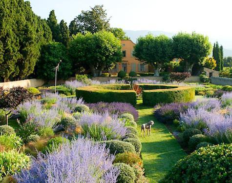 Le Pavillon de Galon in Provence garden