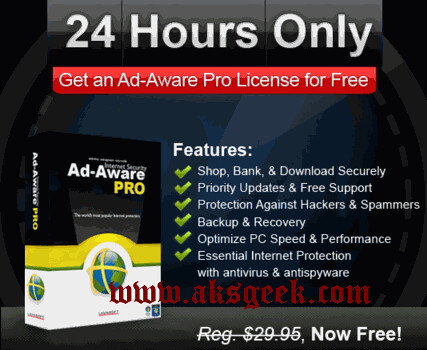 Ad-Aware Pro License Free