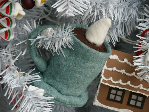 Stuffed Hot Cocoa Ornament