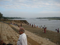 Cauvery bathing ghat 1