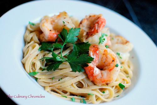 Quick and Easy Shrimp Scampi