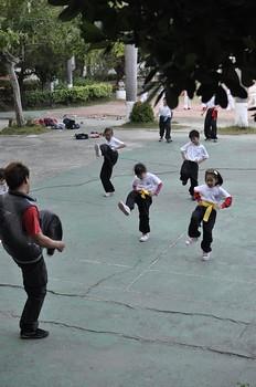 【Video】國術課:快要學完的簡易拳法(6.4~6.5ys)