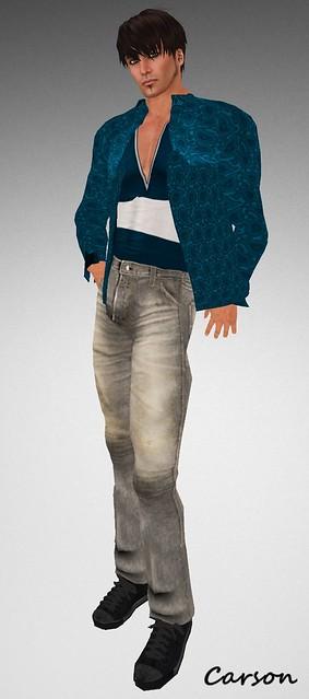 22769 Stonewashed Jeans, Cashmere Jumper & Paisley Shirt Next Big Thing Hunt