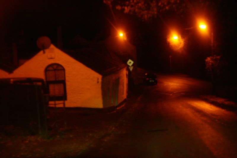Irish Village at Night