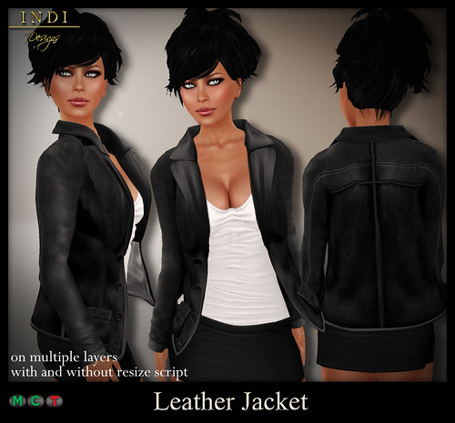 Leather Jacket (f) for TOSL