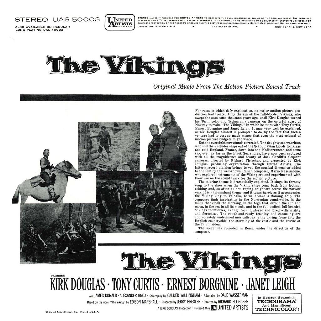Mario Nascimbene - The Vikings