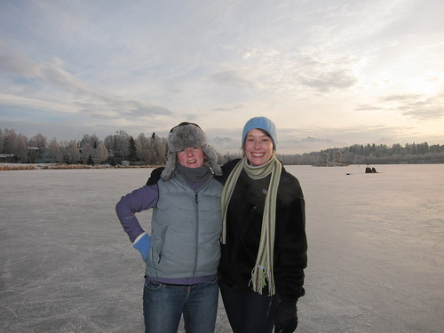 Tara and Katy, Westchester Lagoon