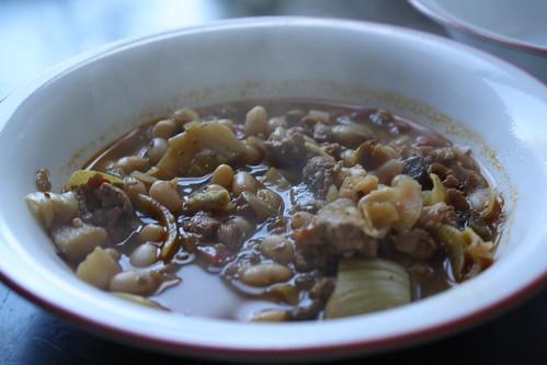 Chicken, Artichoke & White Bean Stew