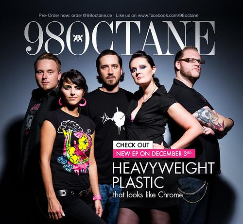 98 Octane EP cover-/ artwork shoot