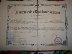 Esmeralda Rubi Otero's 1924 Pharmacy Expert diploma