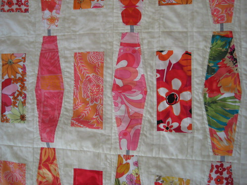 detail of Crosstown Quilt