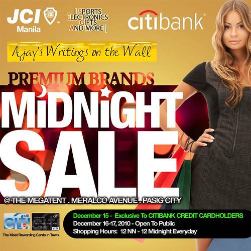 Premium Brands Midnight Sale!