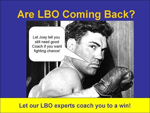 JOE the LBO Come Back Kid
