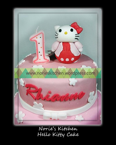 Norie's Kitchen - Hello Kitty Cake
