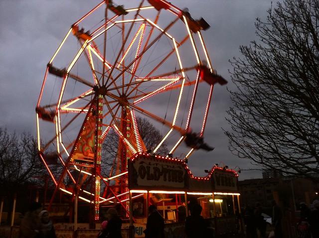 The big wheel of Deptford