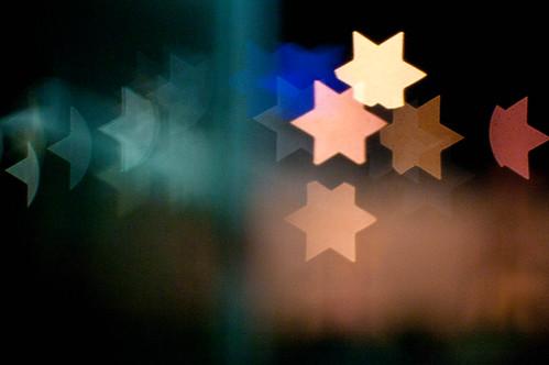 Bokeh stars