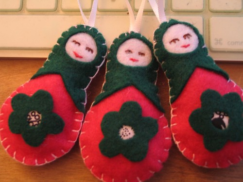 matroysha doll ornaments