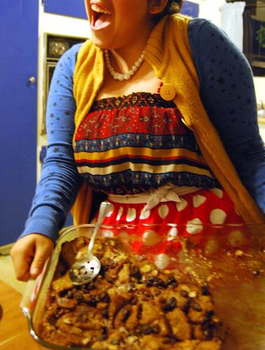 Carob Sue's Bread Pudding