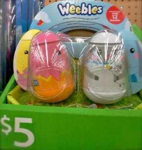 Easter ideas: Weebles